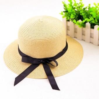 Mũ cói đi biển sành điệu cho bạn nữ