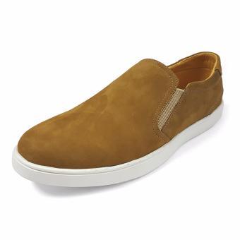 Giày Slip On Da Buck Nam Ensado DT19 (Vàng)