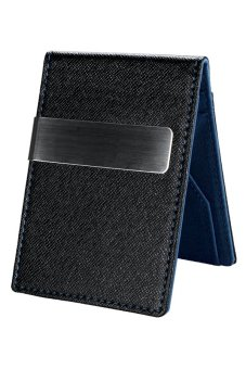 Cyber Men Mini Money Wallet (Blue)