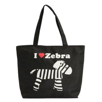 Floral Laundry Bag Shopping Bag Storage Bag Floral Storage Holder Pattern 1 - intl