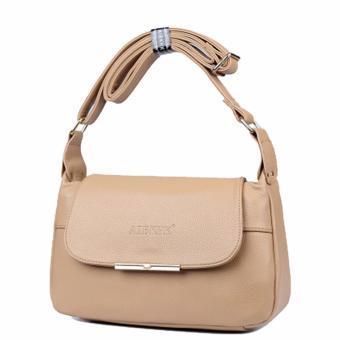 Túi xách da thật chính hãng AIBKHK AIB031 (Kaki) - 2774583