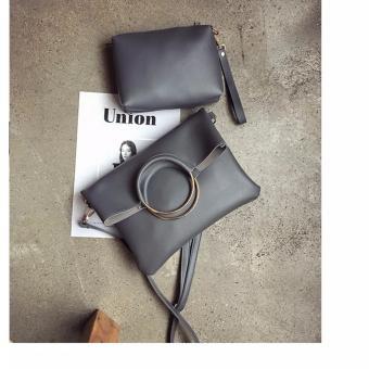 Bộ túi xách nữ đa năng phong cách Botusi-SKV03(xám đậm)