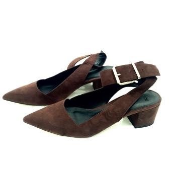 Giày cao gót Asos nữ (Màu nâu) - US:7/UK:4.5/EU:38.0 - EU:38.0.