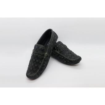 Giày da bò 100% cao cấp Vidra 9352BLK