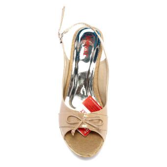 Giày hở Nóni đế xuồng DWS314 (Nâu)