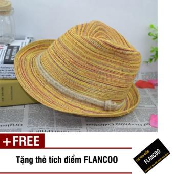 Nón nữ kiểu quả chuông thời trang Flancoo 9761 (Nâu) + Tặng kèm thẻ tích điểm Flancoo