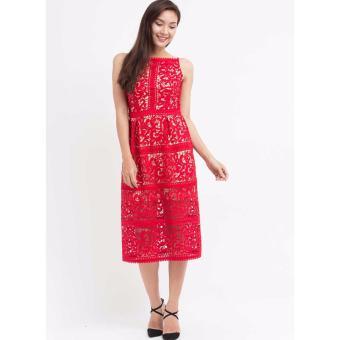 Đầm ren Amun