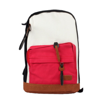 Women Girls Canvas Shoulder Bag Backpack