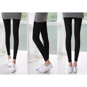 Combo 3 quần legging co dãn(đen)