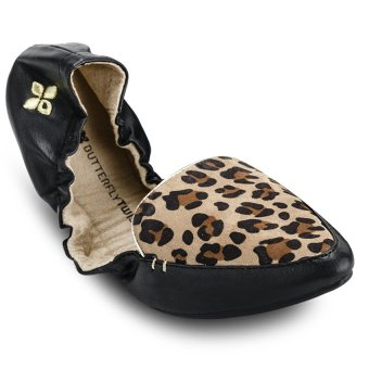 Giày búp bê nữ AMBER BT1062-001 (Đen)