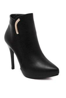 Boot nữ cao cấp HB24 Family Shop (Đen)