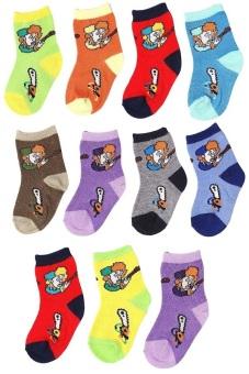 Bộ 11 đôi tất vớ trẻ em Từ 1-3 tuổi bé trai SoYoung 11SOCKS 002 1T4 BOY