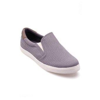 Giày lười nam Aqua Sportswear M1221 (Xám vân)