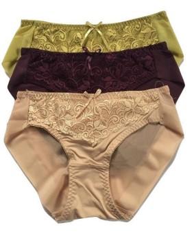 Bộ 3 quần lót ren