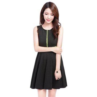 Áo đầm Lime Orange LO6110002 (Xám Đậm)