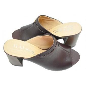 Giày sapo cao gót da bò Hải Nancy DN207N