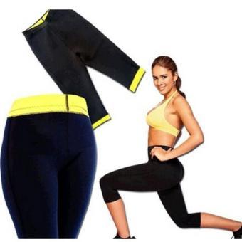 Quần legging sinh nhiệt thời trang giảm mỡ eo thon vùng bụng, đùi