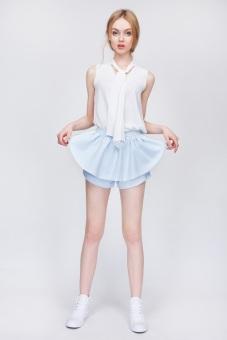 Quần Candeblanc Ruffle Shorts Senerity - S16S004 (Xanh)