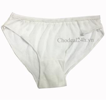 Gen nịt bụng cho mẹ sau sinh The Ladies BK 68 + Tặng 6 quần lót dùng 1 lần (Trắng)