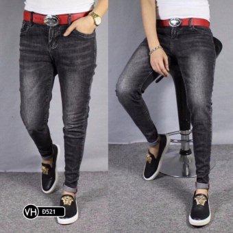 Quần jeans dài nam LyLyFashion (đen)