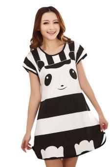 Đầm ngủ nữ Huy Kiệt TT63 (Đen)