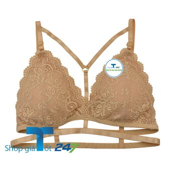 Bộ 02 Áo bra My Sexy pha ren không gọng Giá Tốt 247 ( Da)