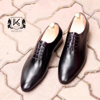 Giày da nam cao cấp Oxford Kazin màu đen - KZD0047