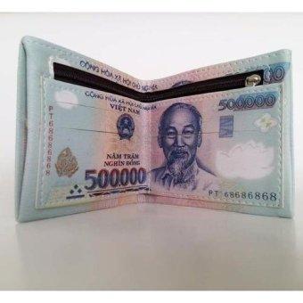 Bóp Da Nam Hình Tiền 500k
