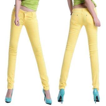 Quần jegging dáng chuẩn co giản thoải mái cho nàng tự tin dạo phố – 108_màu vàng