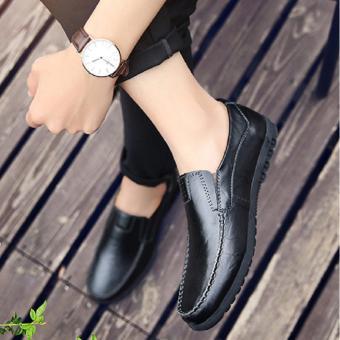Giày Lười Nam Cao Cấp - Pettino GL-08 (đen)