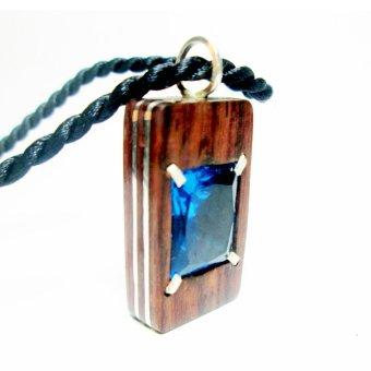 Mặt dây chuyền chế tác gỗ Cẩm Lai – Coco Design
