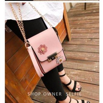 Túi xách đeo chéo thời trang FLOW 1(HỒNG)