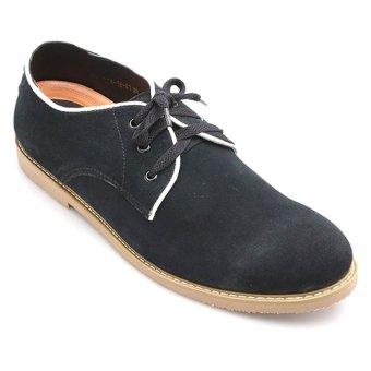 Giày tăng chiều cao nam LADA TN4-18 (Đen)