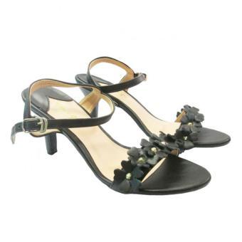 Giày sandal cao gót UP&GO P07-551-BLA