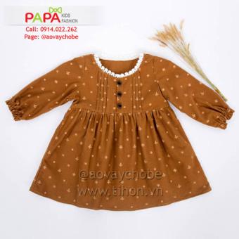 Đầm Cào Bông Papa Fashion (Vàng)
