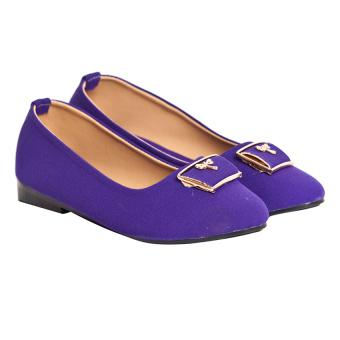 Giày búp bê Sarisiu XT737 (Tím)