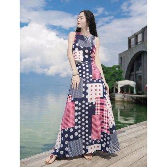Set Áo Váy Maxi EMELY Cao Cấp (Size L)