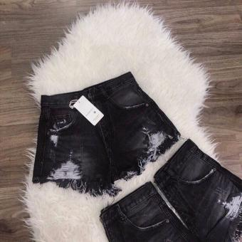 Quần Short Jeans Nữ LyLyFashion (đen)