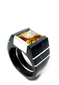 Nhẫn gỗ COCO Design NH09-B-M-TO-VA (Vàng)