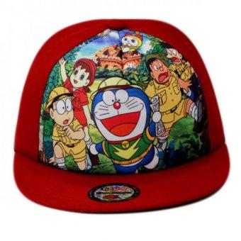 Nón Snapback trẻ em Doremon Juliecaps (Đỏ)