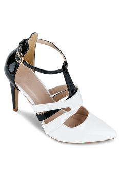 Giày Cao Gót Janvid L033 (Trắng)