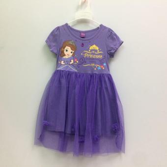 Đầm Bé Gái Disney Sofia Sfdr-0024