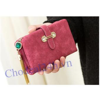 Ví cầm tay nữ Sang trọng CDVN01 (hồng)