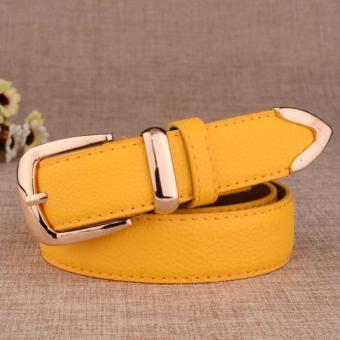 Dây lưng nữ thời trang thanh lịch ROT012 (Vàng) - 3713823