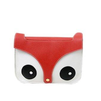 Cartoon Fox Handbags Girl Women Shoulder Bag Tote Cross Body Bag Red - Intl