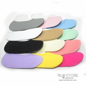 Bộ 12 đôi tất (vớ) lười nữ gót silicon
