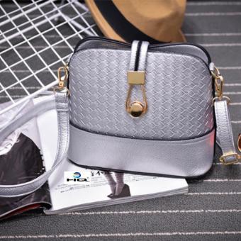 Túi Nữ Đeo Chéo Thời Trang HQ 9TU55-1 (bạc)