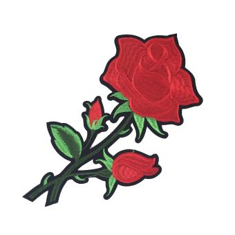 BolehDeals 1pc Rose Flower Embroidery Patch Lace Venise Applique Sewing#4 - intl