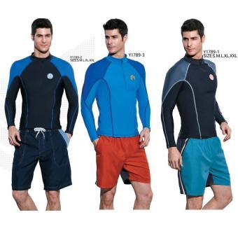 Áo bơi Yingfa Y1789-3 (xanh)