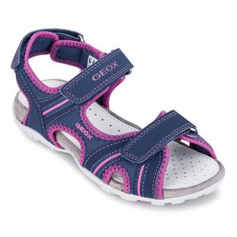 Giày sandal trẻ em J S.ROXANNE A (Xanh & Hồng)